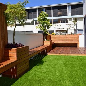 dee why balcony landscaping project