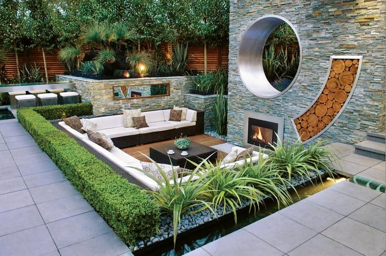Landscape designs sydney small garden design for Small garden design ideas with lawn