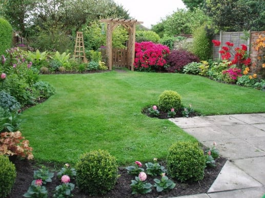 Backyard landscaping project in Roseville