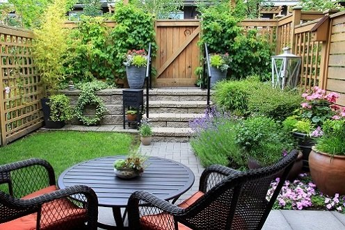 backyard garden landscaping in Sydney