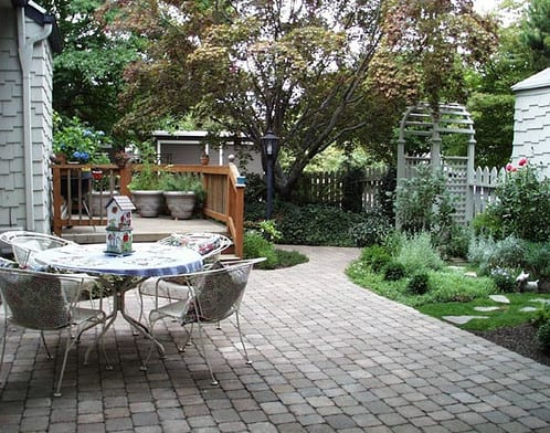 backyard landscaping project in Frenchs Forest