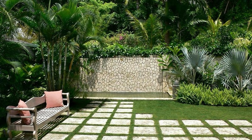 custom designed landscape in Sydney
