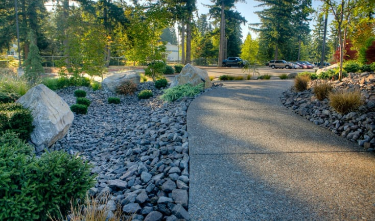 design ideas for commercial landscape