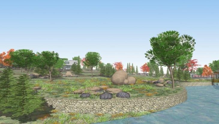 google sketchup 8 landscape design