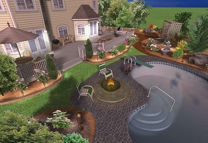 Landscape Design 3D | Landscape Design 3D Model