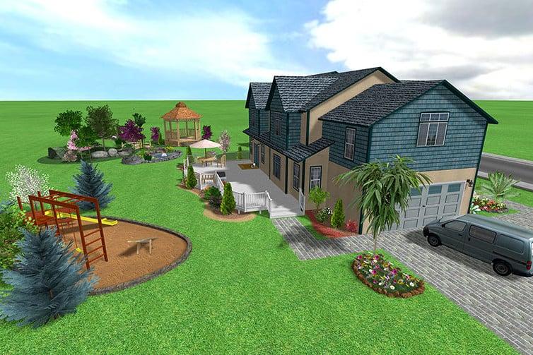 Landscape design for acreage for New acreage home designs