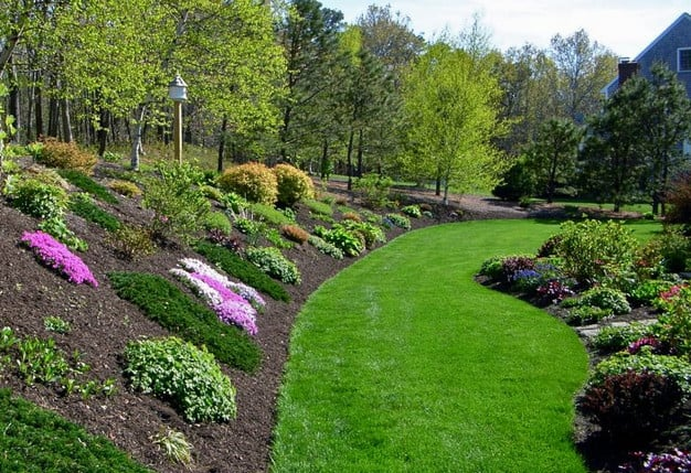 Landscaping Ideas Backyard With Hill