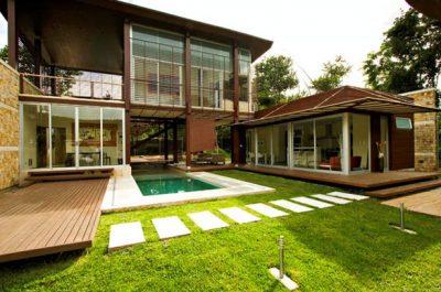 eco friendly lawn design