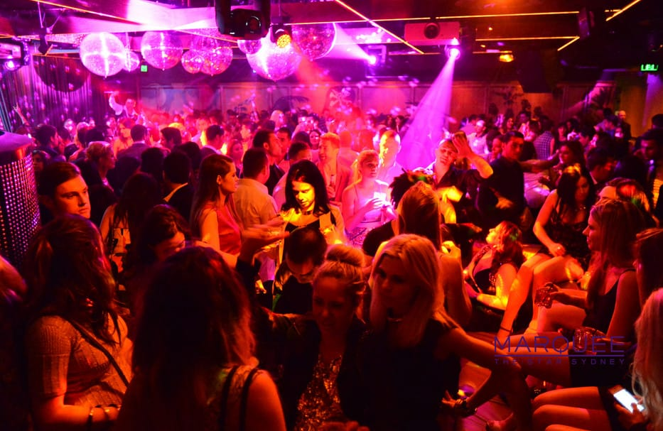 nightclub party in Sydney