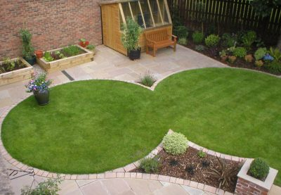 circular lawn designs