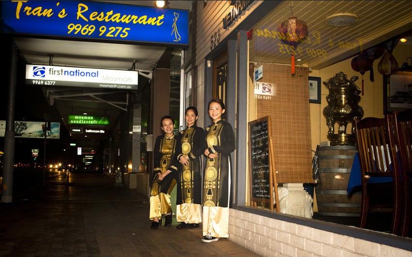 Trans restaurant in Mosman