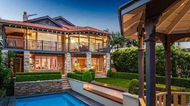 expensive house in mosman