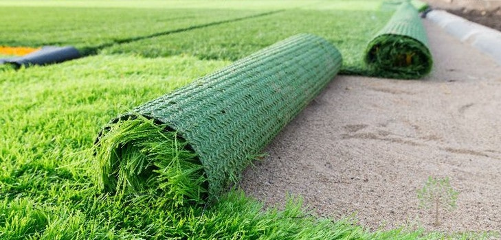 installing synthetic grass in Sydney