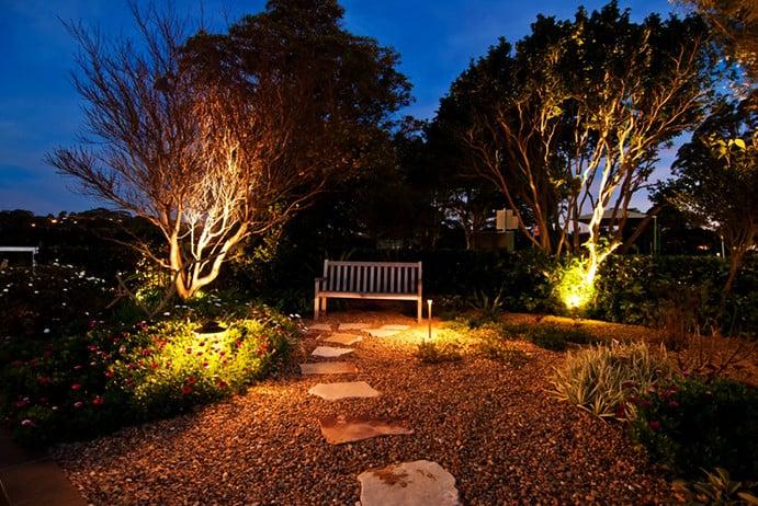 spot lights for garden