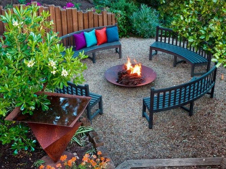 cool colourful backyard design ideas
