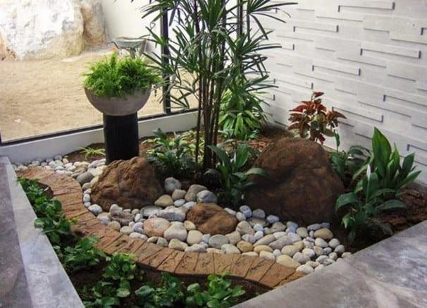 Simple Rock Garden Design Ideas