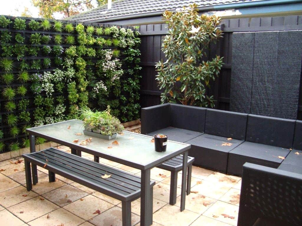 13 Landscaping Ideas for a Small Backyard in Sydney on Small Outdoor Patio Ideas id=25879