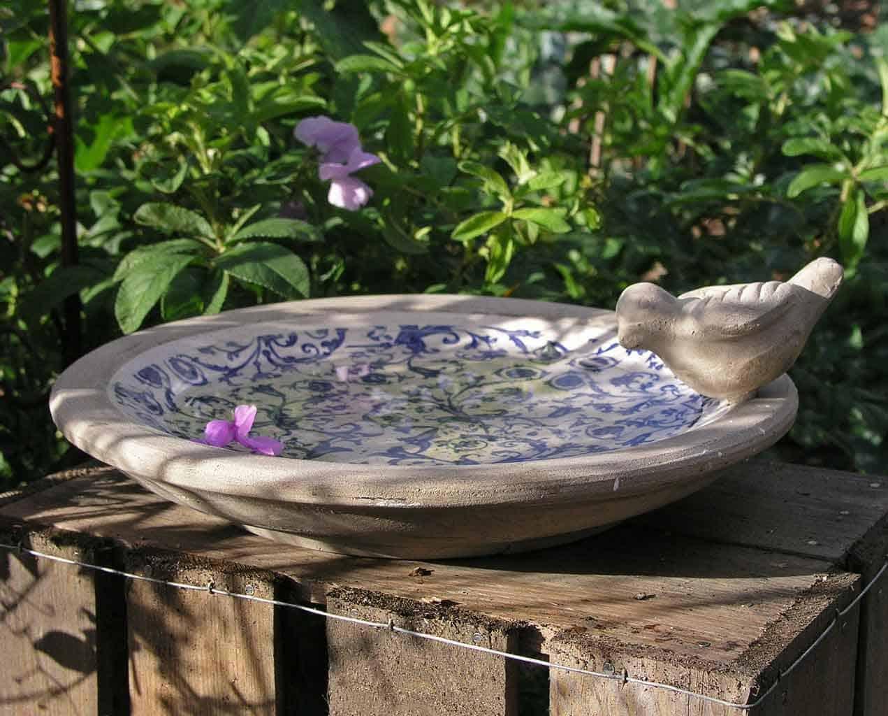 Bird Baths for Beautiful Backyards