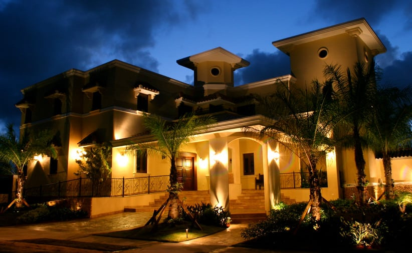 landscape lighting ideas for front of house