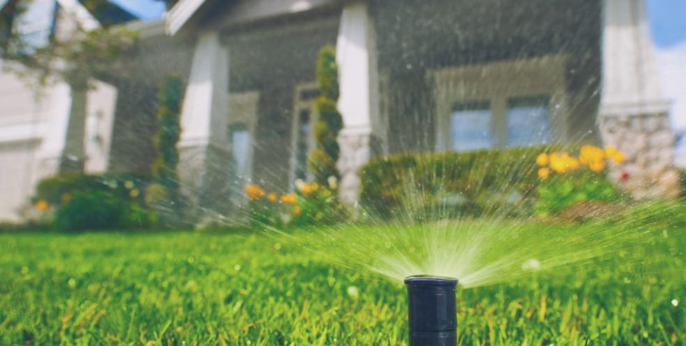 landscape plumbing and irrigation