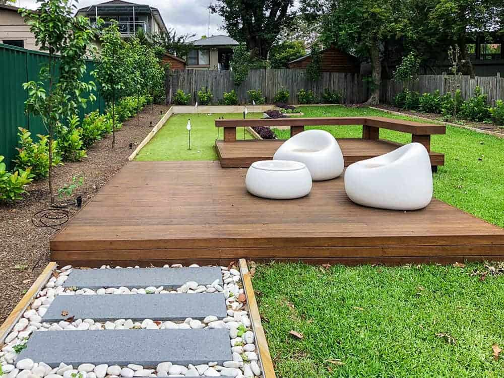 Abbotsford backyard landscaping