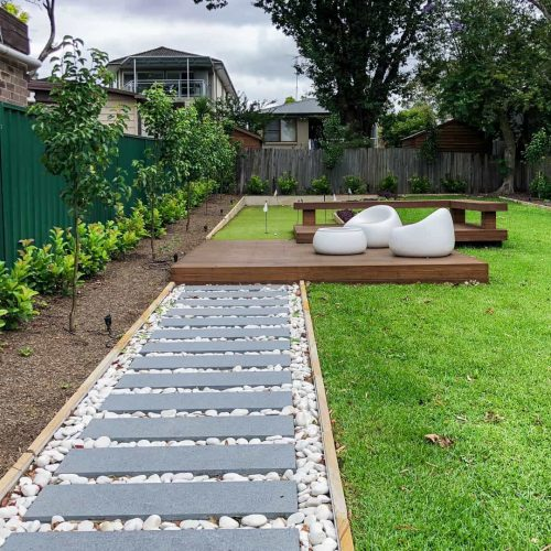 Abbotsford landscaping project 1
