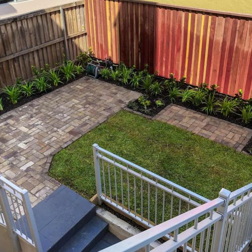 Balmoral landscaping project 5