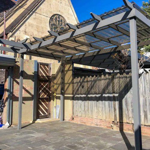 Redfern carport project 1