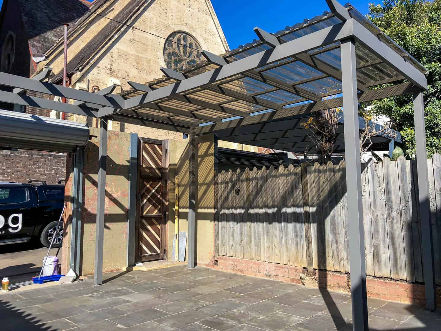 Redfern carport project 1