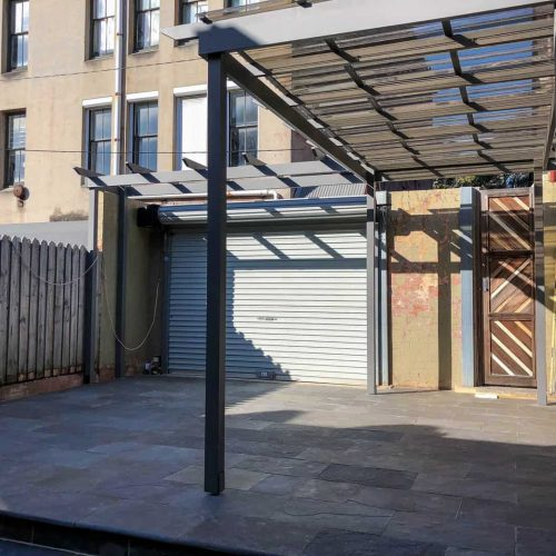 Redfern carport project 3