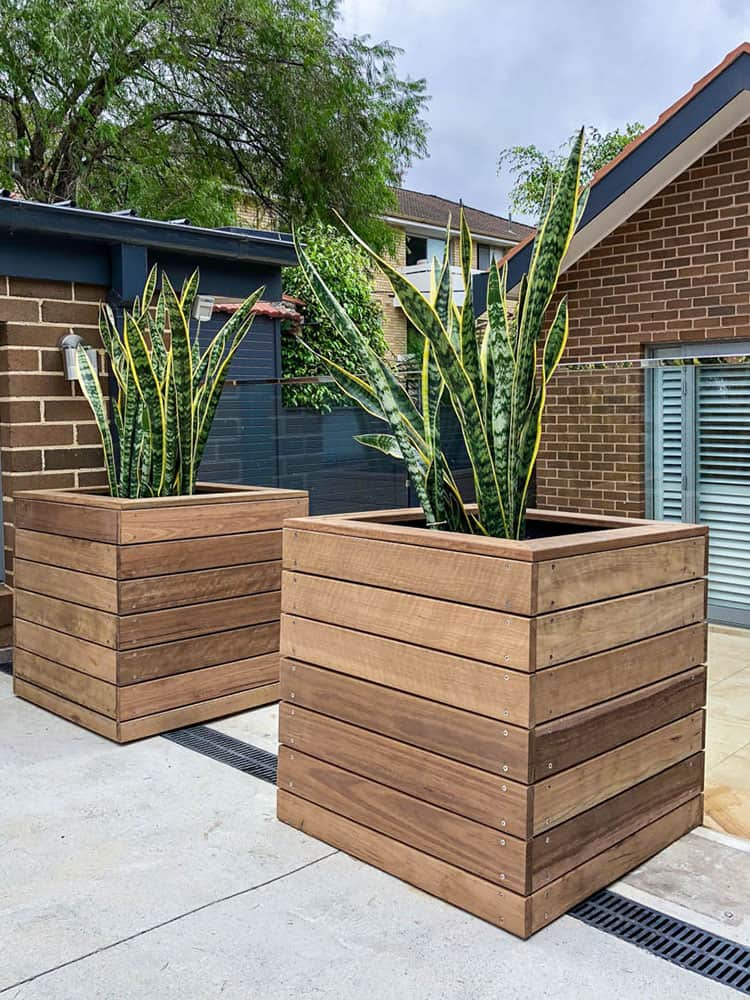 Sturdee Parade landscaping project 5