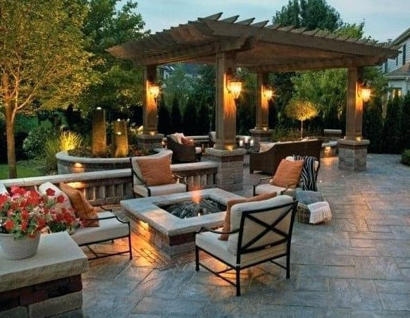 impressive outdoor backyard patio design