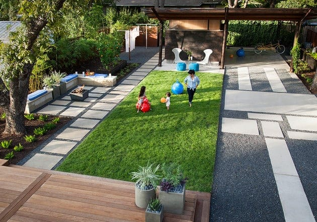 simple low maintenance backyard landscaping for your family