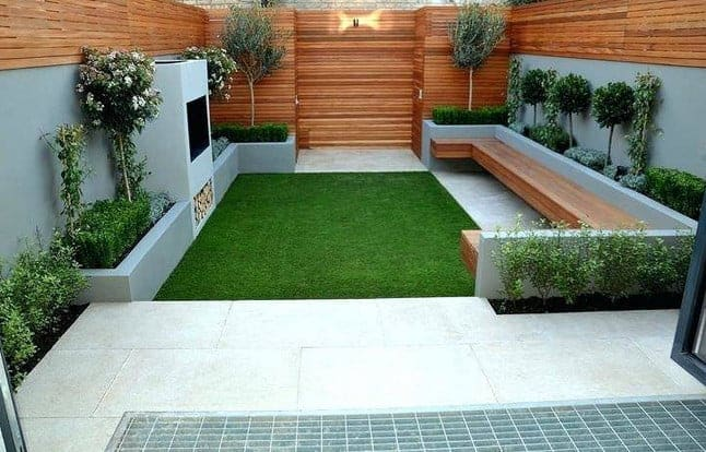 beautiful modern patio design