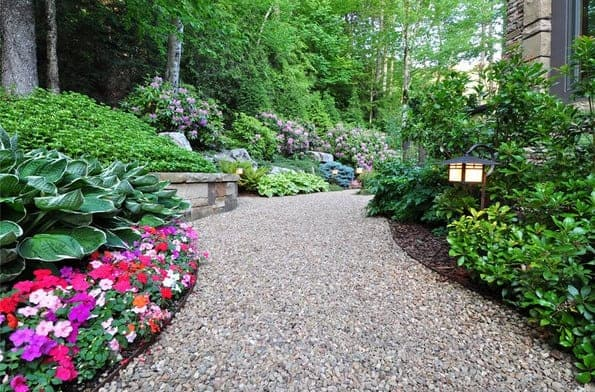 gravel walkway design ideas