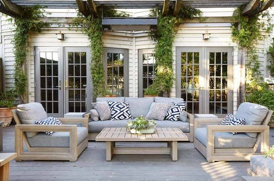 simple patio furniture ideas