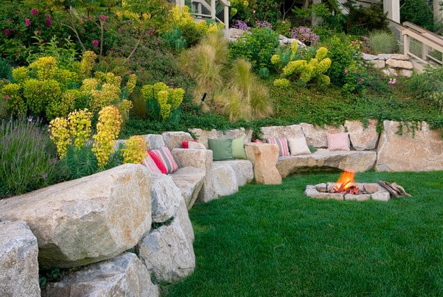 steep sloped backyard landscaping ideas