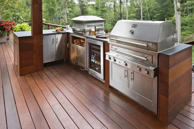 backyard kitchen design ideas