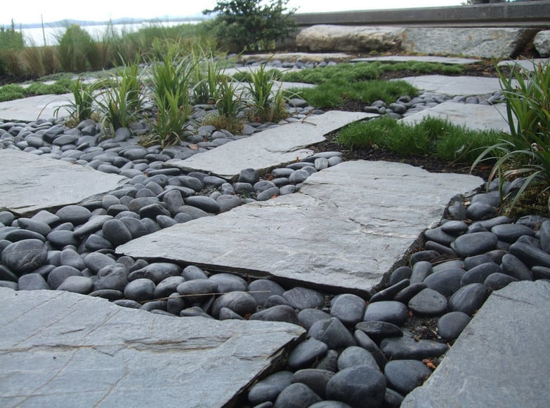 hardscaping materials rock flagstone